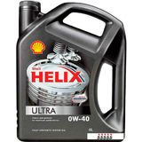 Моторное масло Shell Helix Ultra 0W-40 4л